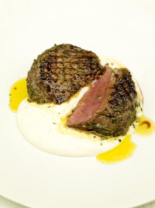 Steak With Horseradish Sauce