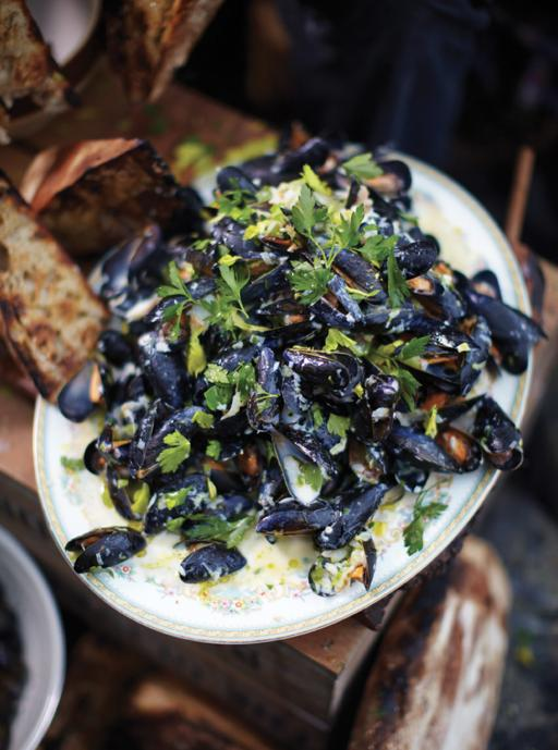 one pot mussels