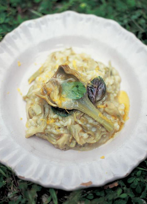 artichoke risotto