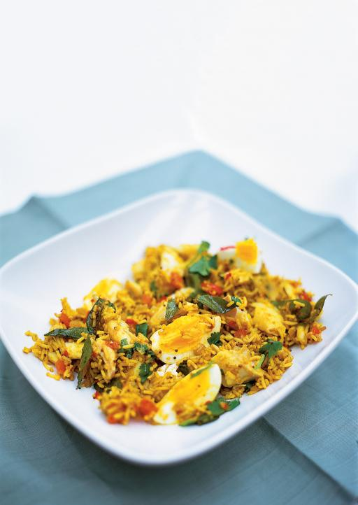 ... curried rice with smoked haddock recipes kedgeree british curried rice