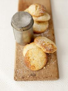 Lemon butter biscuits