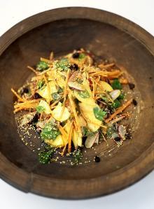 Moorish crunch salad