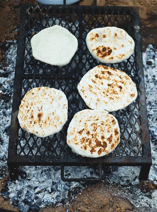 Navajo flat breads