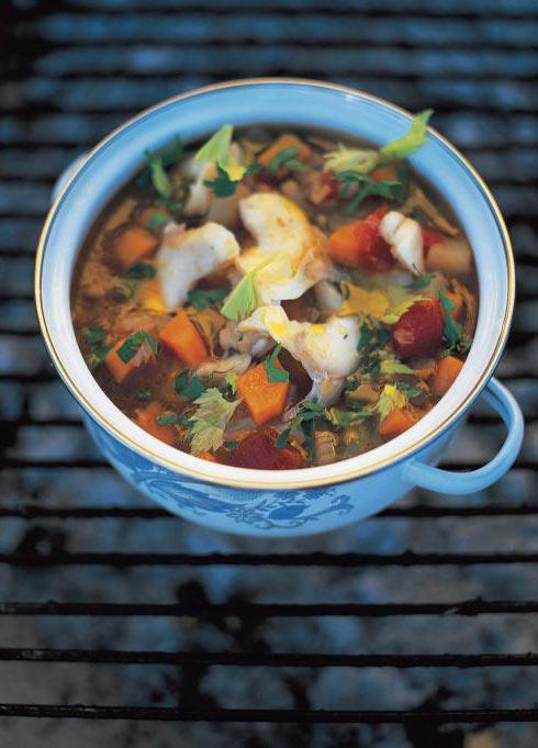 Salt Cod Soup