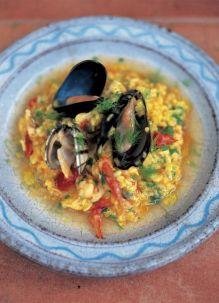 Seafood risotto (Risotto ai frutti di mare)