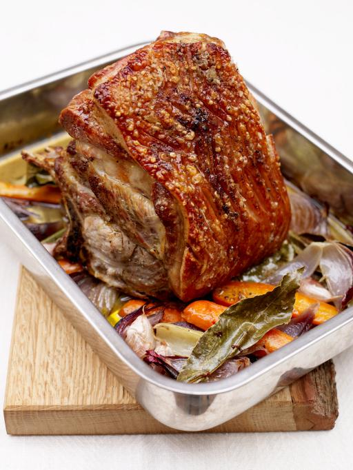 slow roasted pork shoulder