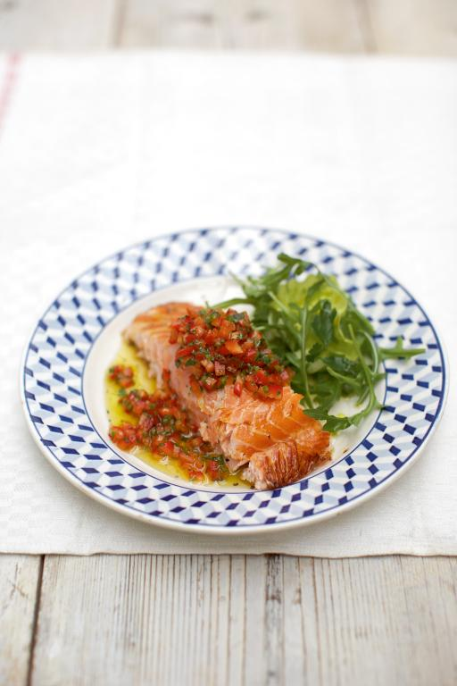 Soy Baked Salmon