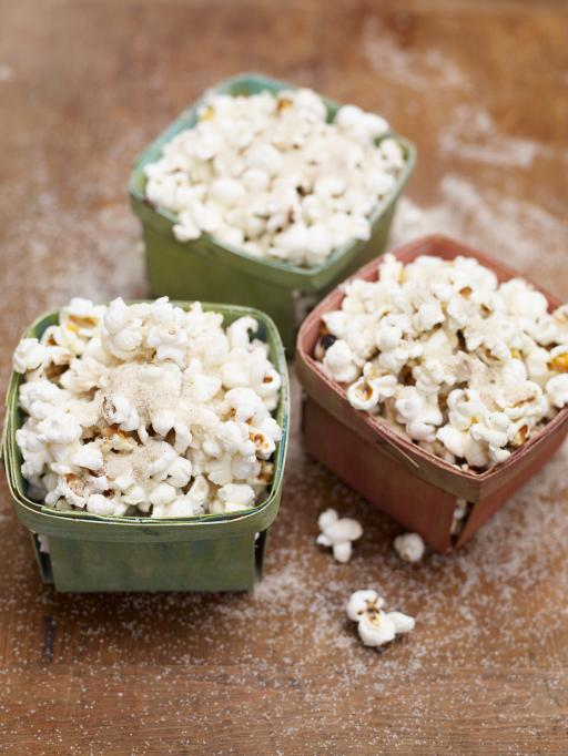 spiced sugar popcorn