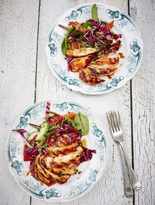 Jamie Oliver BBQ Chicken