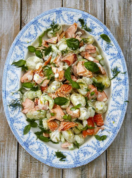 Salmon Summer Salad