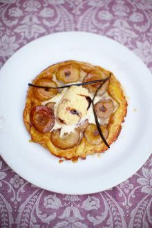 The world-famous tarte Tatin