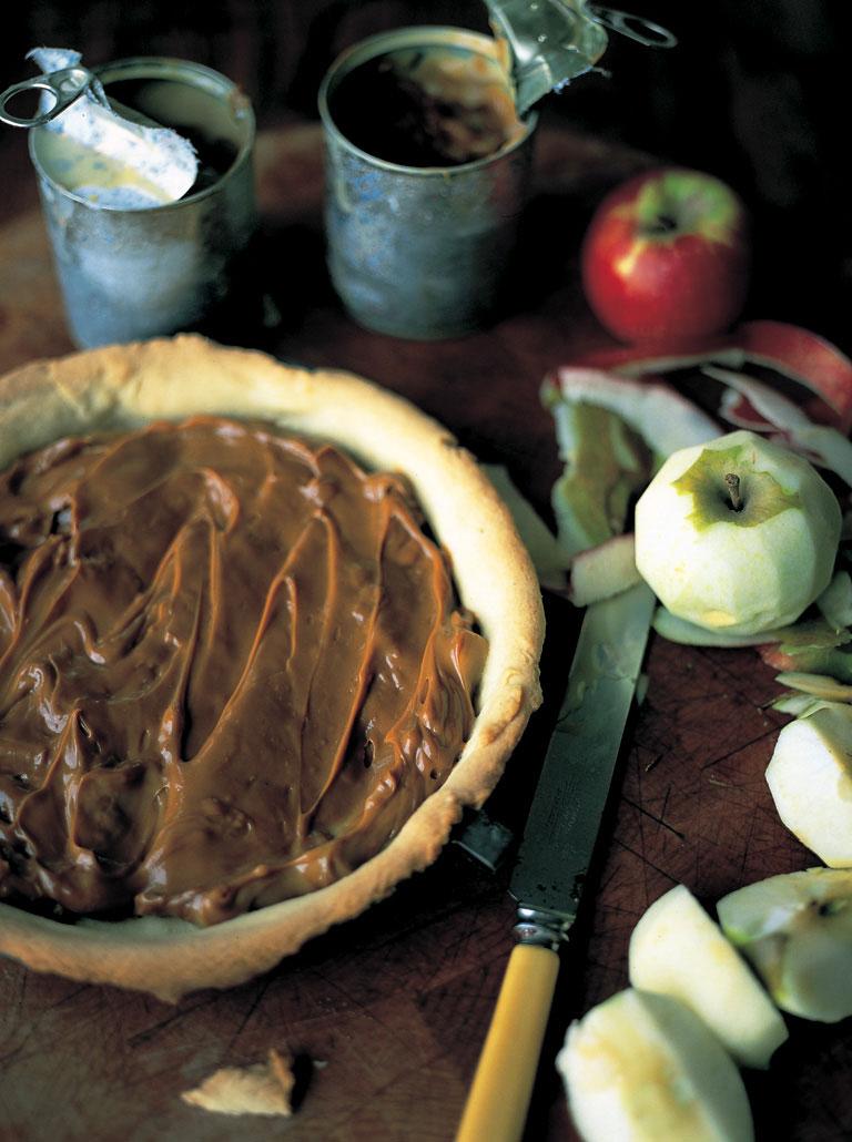 toffee apple tart fruit recipes jamie oliver recipes