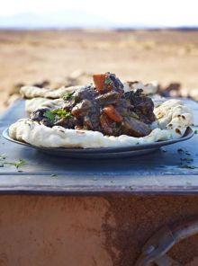 Venison & juniper stew