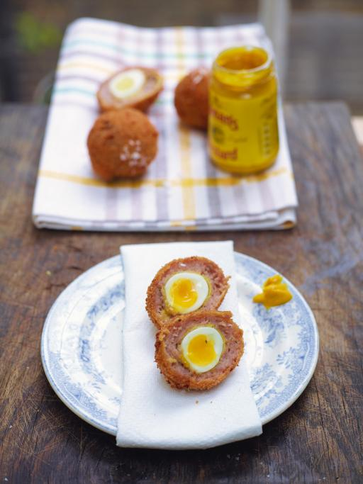 Beautiful scotch egg