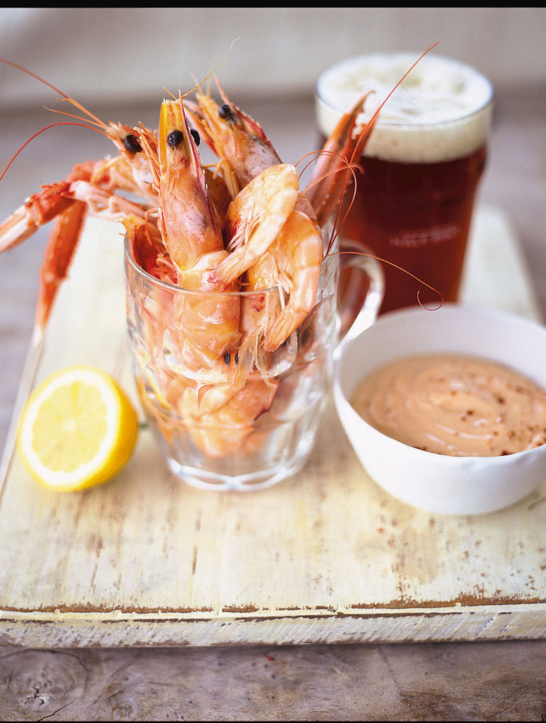 pint of prawns