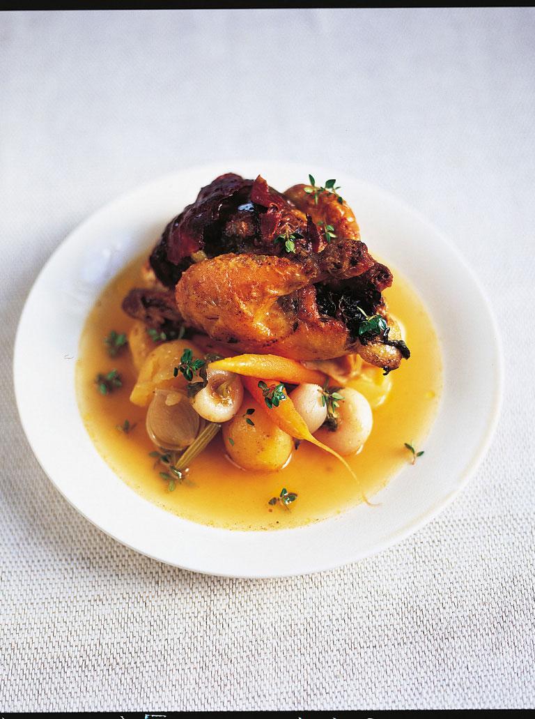 Stuffed Spring Chicken
