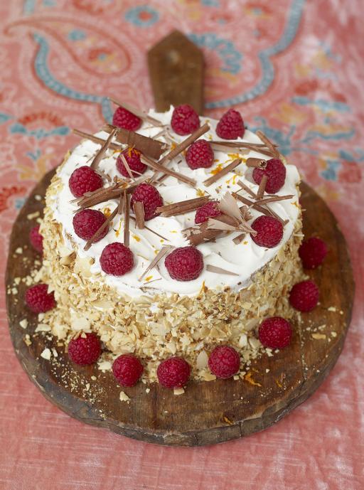 summer panettone cake