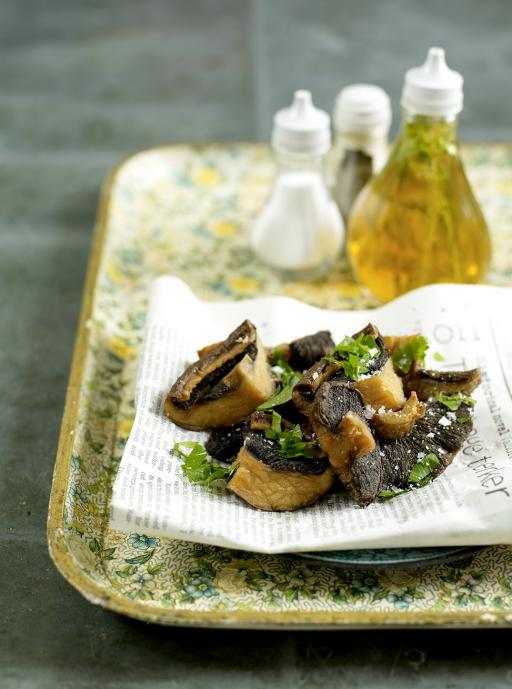 Deep Fried Mushrooms