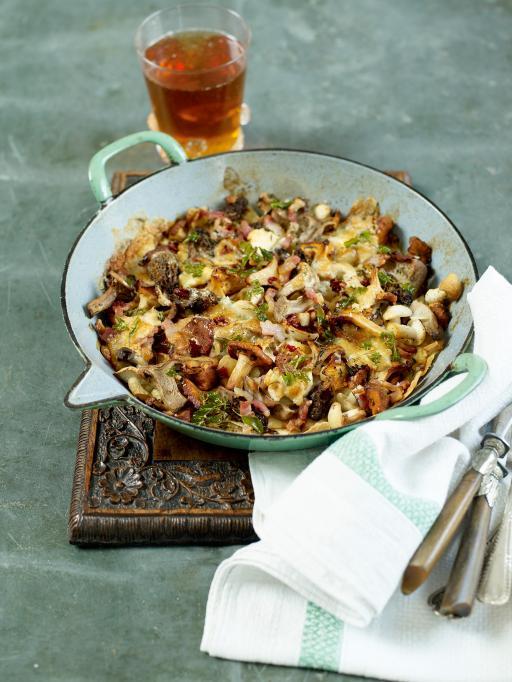 Cheesy Mushrooms | Vegetables Recipes | Jamie Oliver Recipes