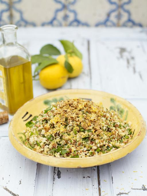Four Grain Rice Salad