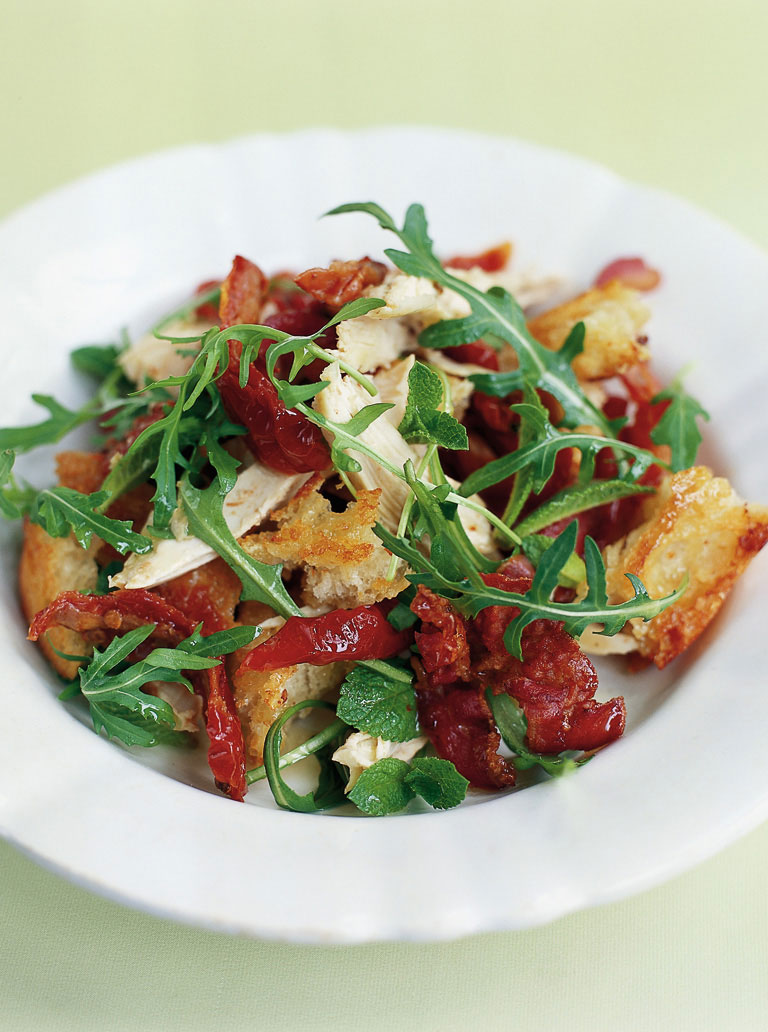 Chicken and Pancetta Salad