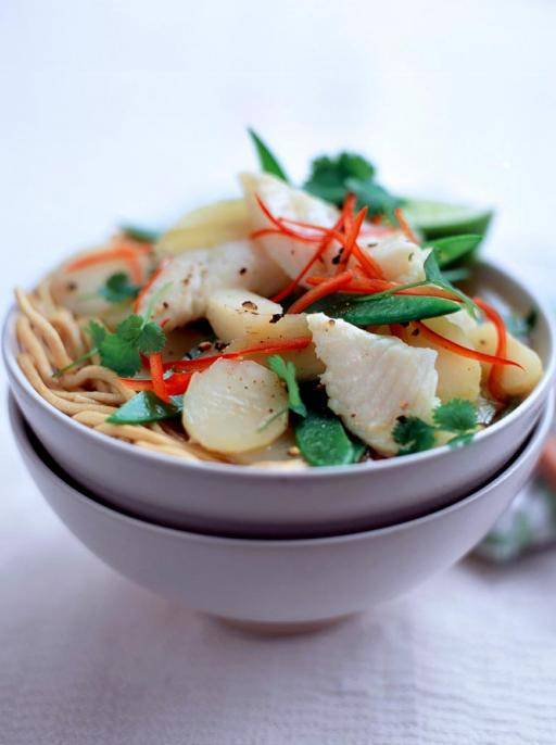 Fish & Noodle Broth