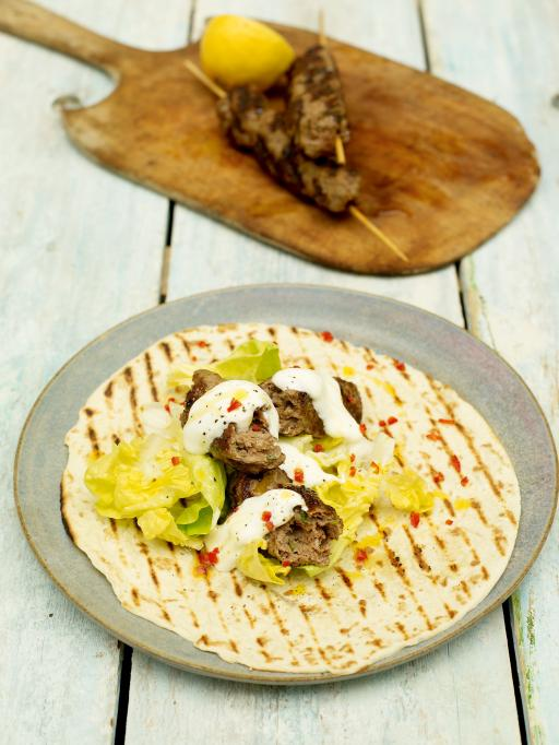 Spicy Kofta Kebabs | Lamb Recipes | Jamie Oliver Recipes