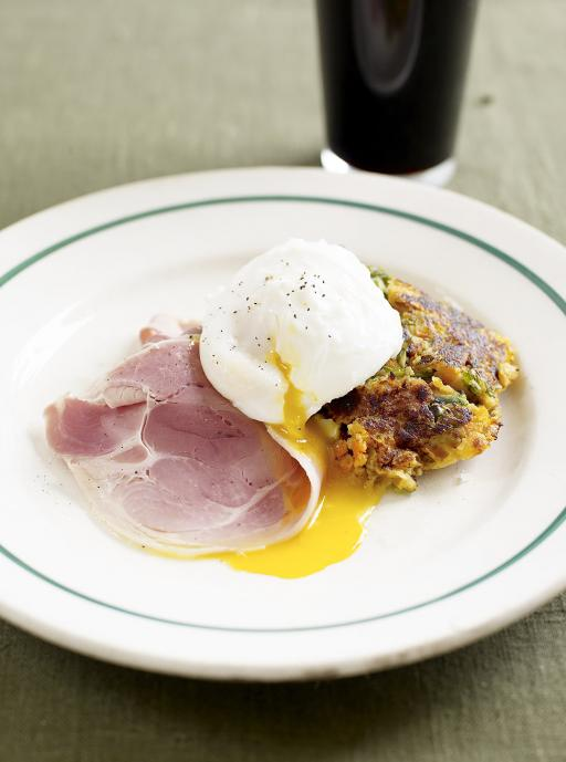 ham, eggs and bubble and squeak