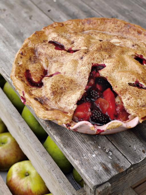 Blackberry And Summer Apple Pie Recipes — Dishmaps