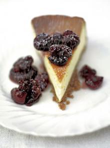 Bloomin' easy vanilla cheesecake