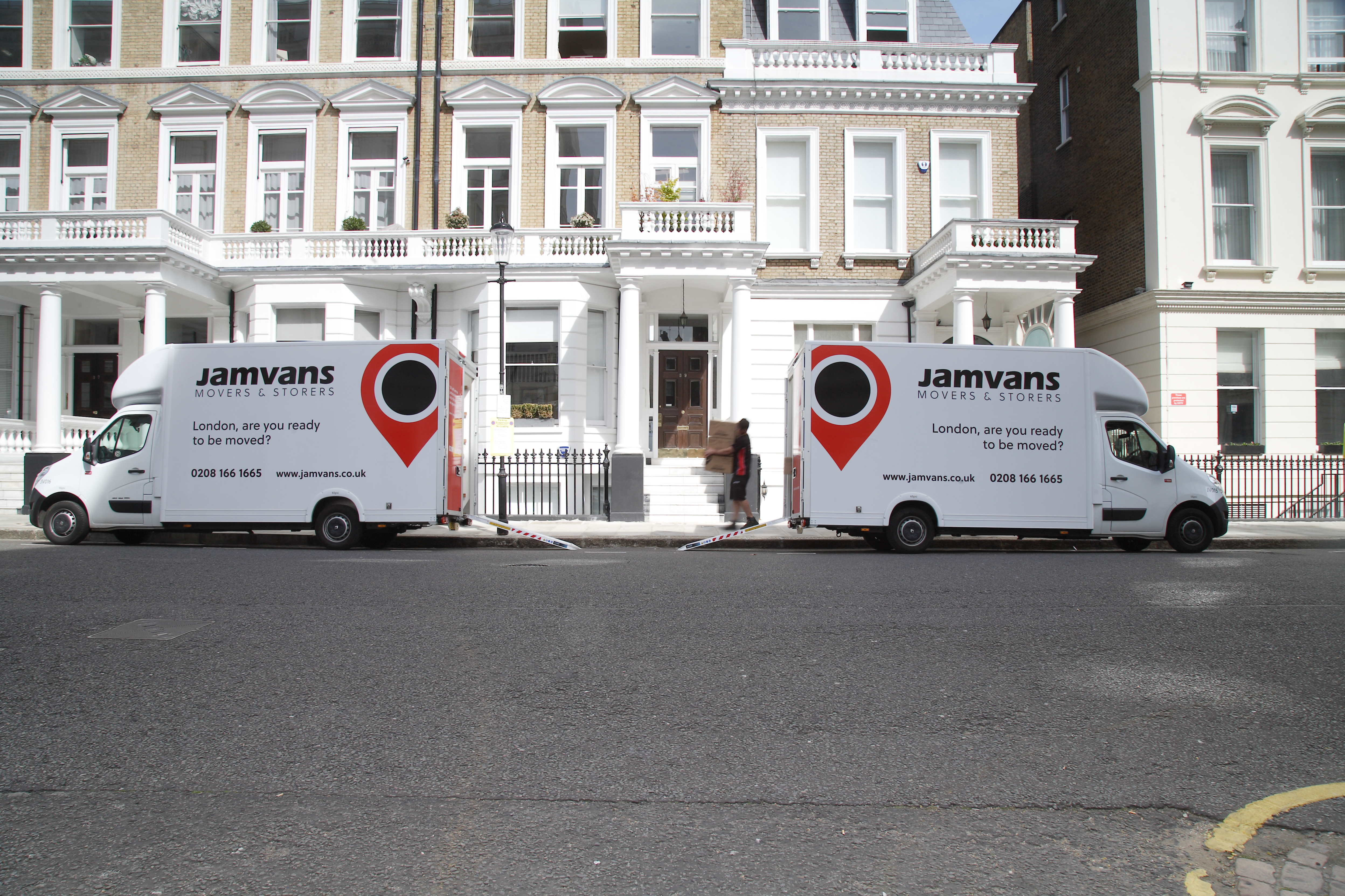 Kensington and Chelsea Removals JamVans