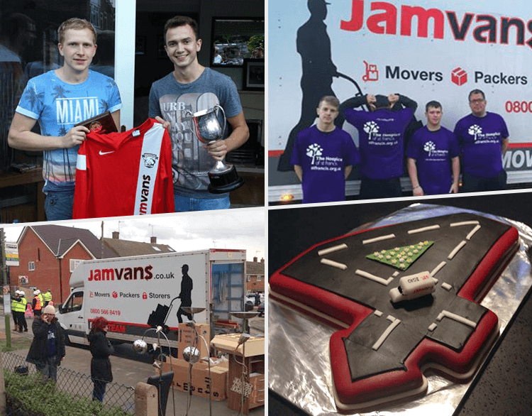 JamVans 2014 Charity Involvement