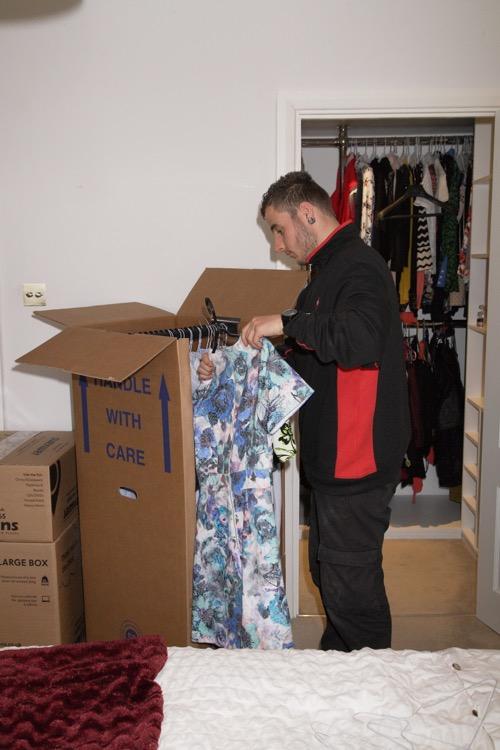 JamVans Wardrobe boxes