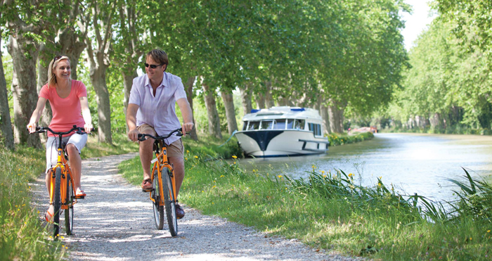 Aude Canal velo
