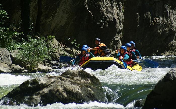 Aude Juin Rafting