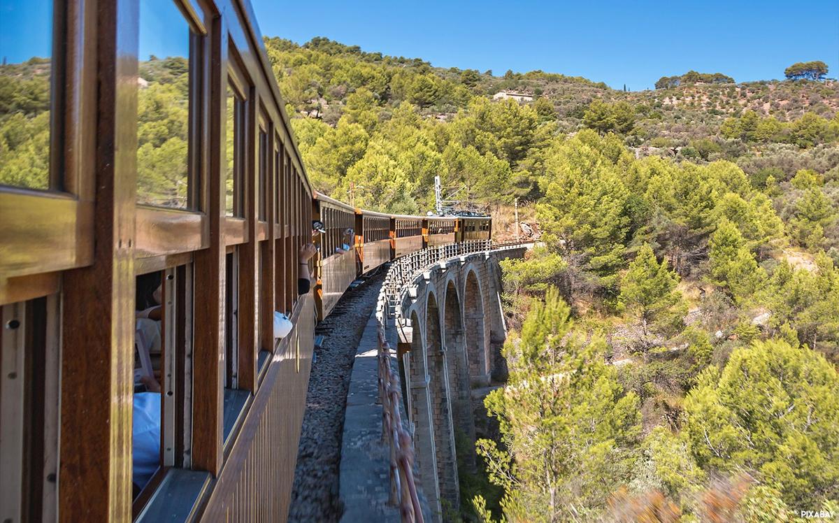 Baléares Vacances Majorque Train