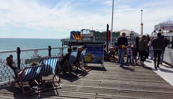 Brighton Pier Chaises