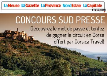 Concours Sud Presse V Corsica