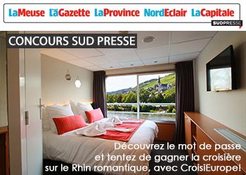 Concours Sud Presse V Croisieurope Rhin