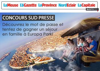 Concours Sud Presse V Europa Park