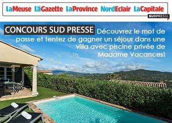 Concours Sud Presse V Sainte Maxime