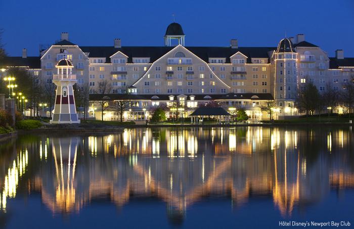 Disney Hotel Facade