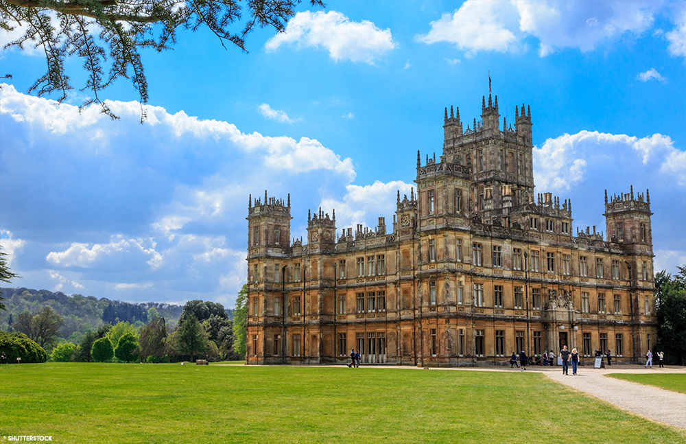 Downtown Abbey Chateau Highclere