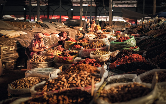 Kirghizistan Bazar Osh 2