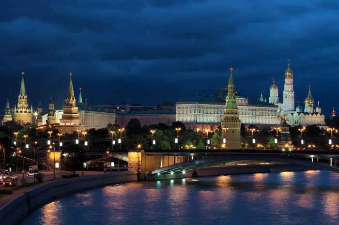 Kremlin de nuit