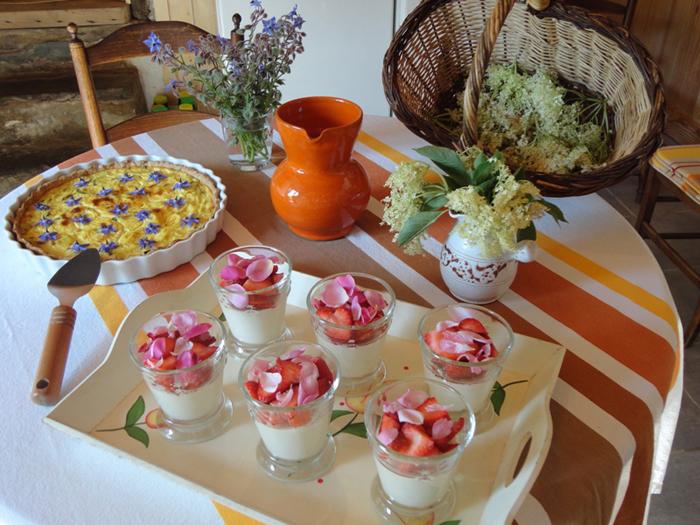 Landes Cuisine Fleurs