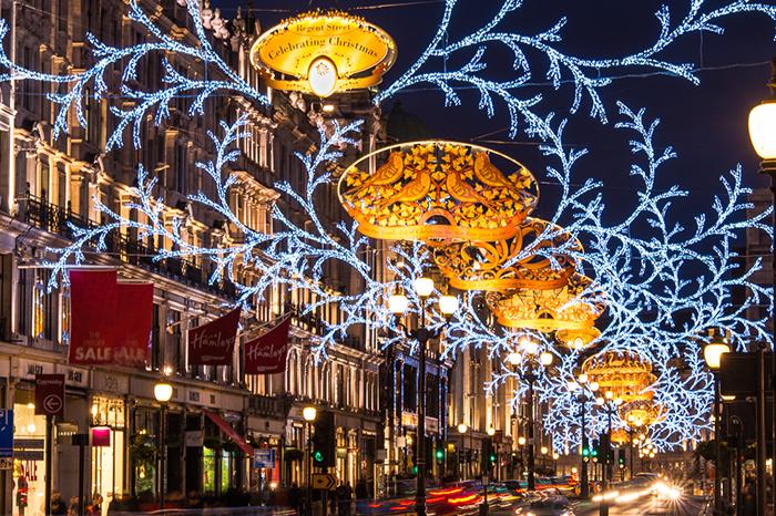 Londres Noel RegentStreet