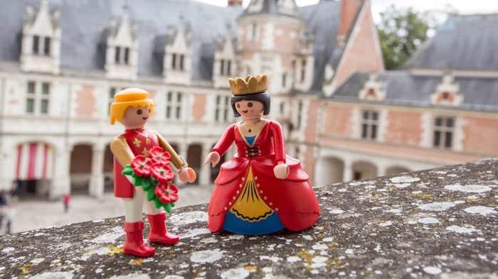 Chateau Blois noel playmobil