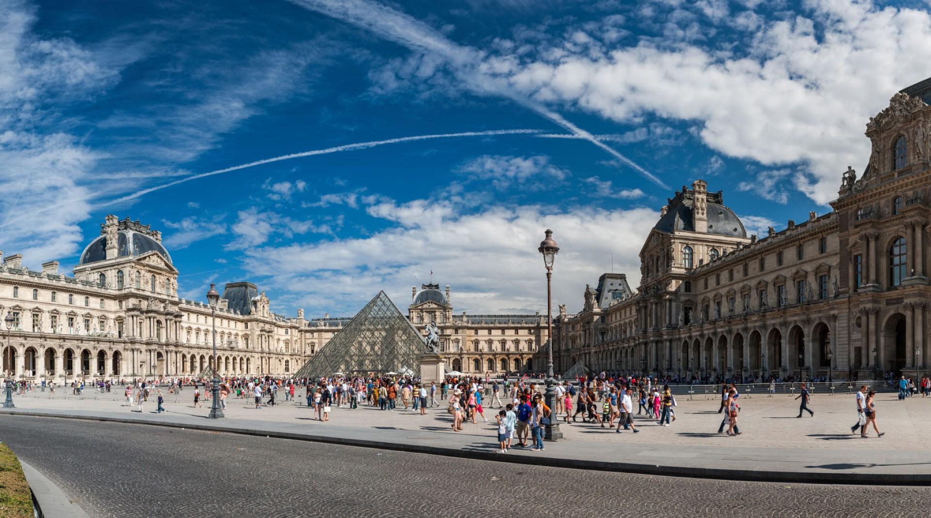 Paris Famille Louvre