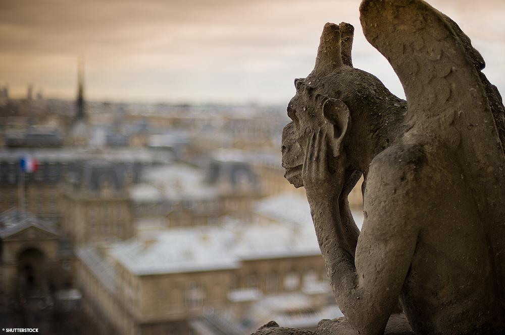 Paris Halloween Gargouille